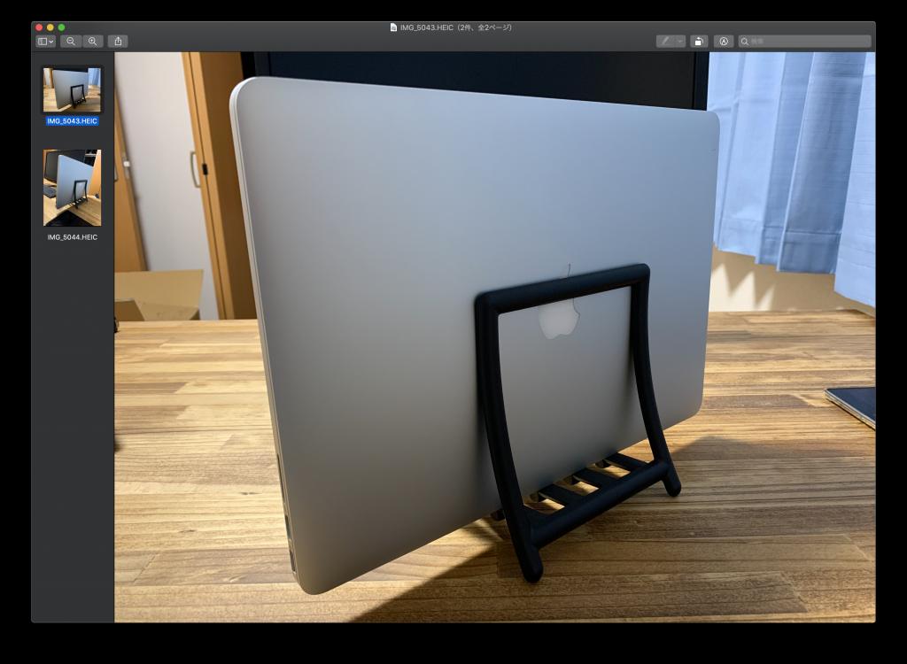 macでHEIF(.heic)形式の画像をjpgに変換する方法