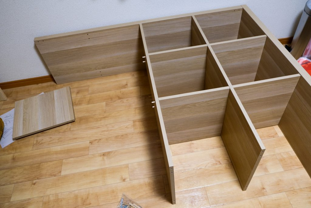 IKEA イケア KALLAX カラックス 組み立て方
