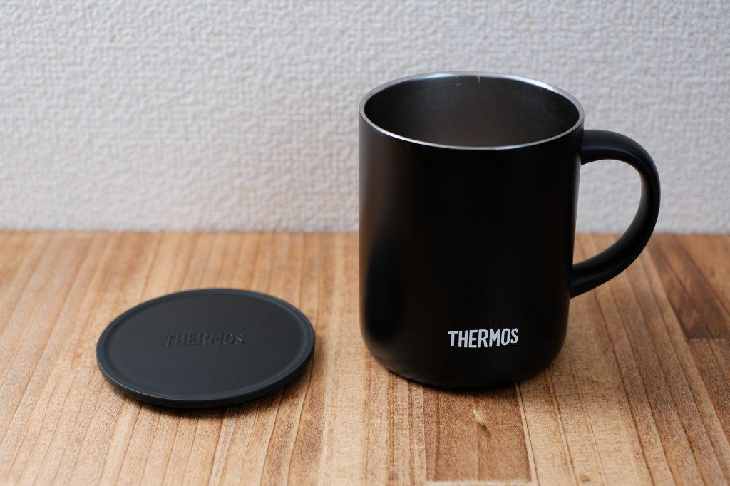 普段遣いに最高なサーモス真空断熱マグカップ