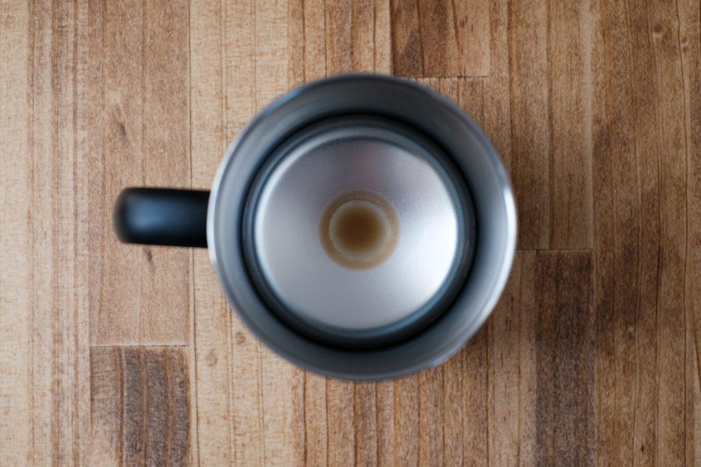 サーモスのマグカップは汚れにくく洗いやすい