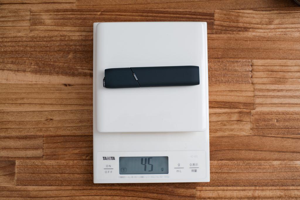 アイコスマルチの重量