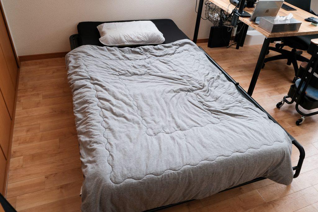 ハッマルンをベッドとして使用