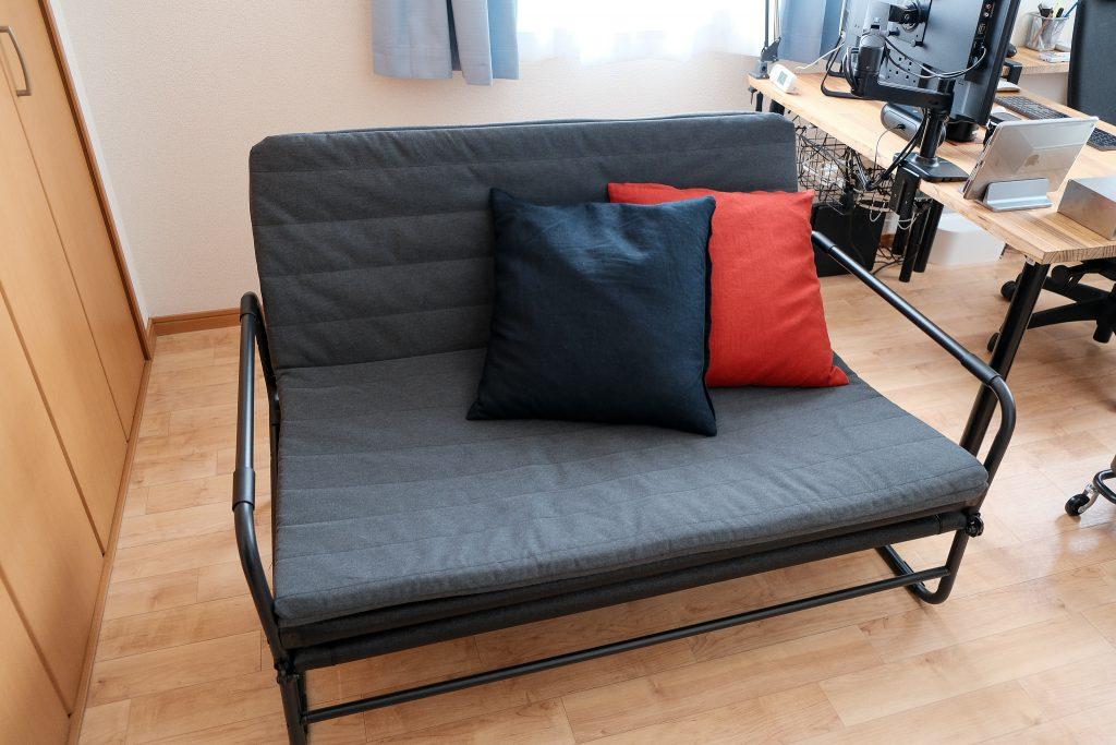 ハッマルンをソファとして使用