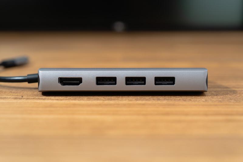 Satechi V2 マルチ USB Type-Cハブ USBポートとHDMIポート